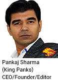 Pankaj Sharm | King Panks | CEO/Founder/Editor