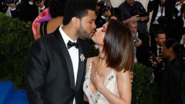 Selena Gomez The Weeknd-a