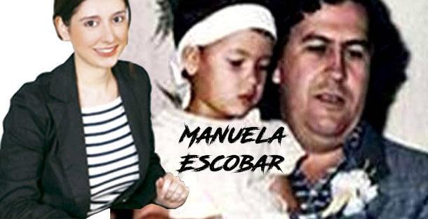 Manuela Escobar Daughter of Pablo