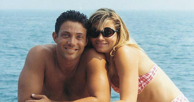Nadine and Jordan at a Beach